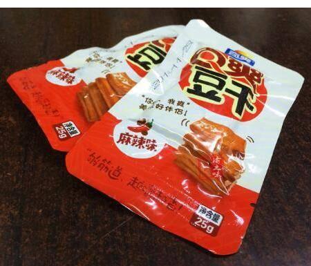 重庆梁平特产奇爽q爽豆干500g(25g*20个)麻辣味