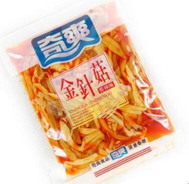 重庆梁平特产奇爽金针菇 香辣味250g散装
