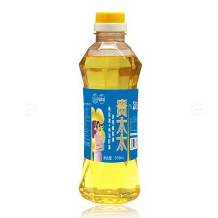 贵太太 原味 纯茶+纯菜调和油 500ml 瓶装