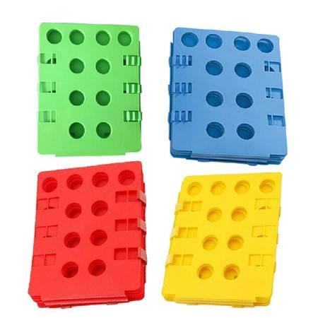 红兔子 黄色第四代正品懒人叠衣板 创意可调节折叠衣服板 折衣板方便叠衣