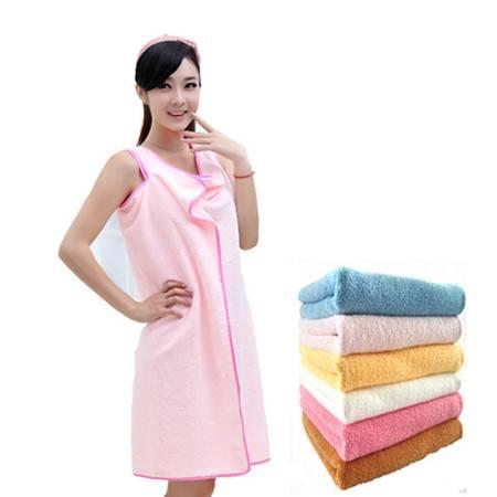 红兔子 百变魔术浴巾细纤维情侣浴巾可穿浴巾亲子强吸水款式随机