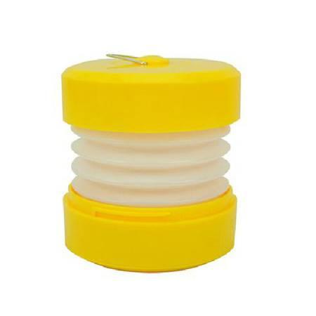 红兔子 USB电池两用便携式伸缩户外灯/露营小夜灯野营灯 帐蓬灯黄色