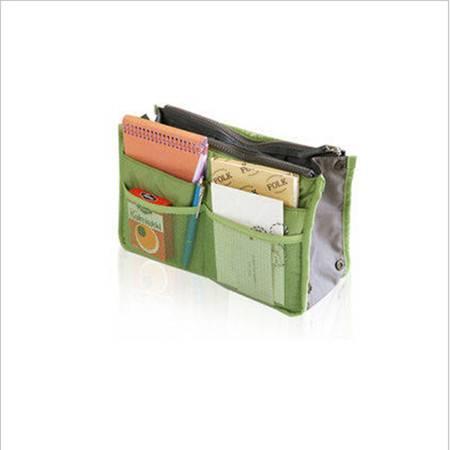 红兔子包中包 收纳包 整理包 加厚带手提多功能收纳整理包 内包绿色
