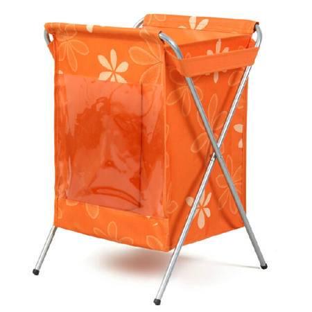 友纳 牛津布脏衣篮 收纳盒 收纳箱(橙色)