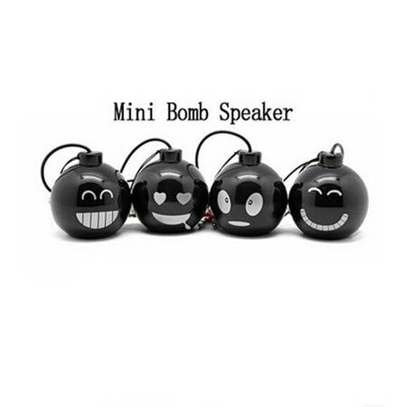 Mini Wired Bomb Speaker MP3/MP4/MP5 迷你小音箱