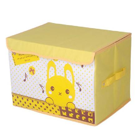 友纳 牛津布卡通系列印花卡通收纳箱 儿童玩具卡通收纳盒 收纳箱(音乐顽童)