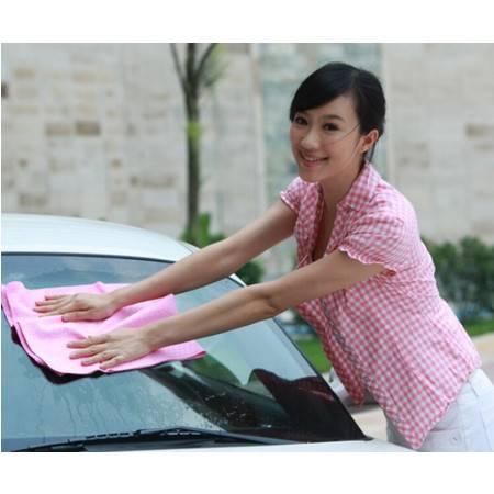 多功能吸水筒装鹿皮巾--大号 颜色随机(66*43cm)