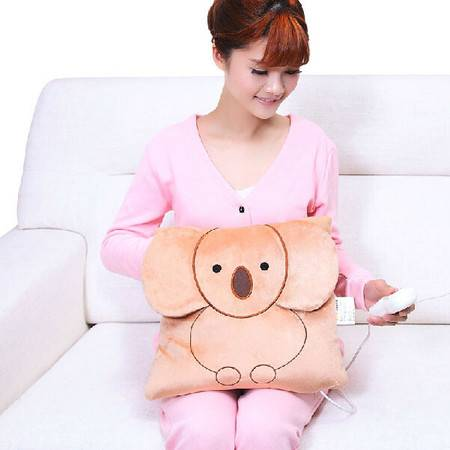 爱贝斯 创意坐垫/抱枕/颈枕 考拉暖手宝充电 创意电暖宝 卡通暖宝