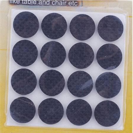 耀点100 小圆形16片装桌角椅垫   80片