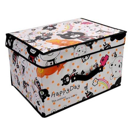 开馨宝中号收纳箱/储物箱/折叠式学生收纳箱(K8203)