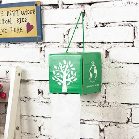 畸良正品 手工DIY环保纸巾盒 抽纸盒(颜色随机)2只装