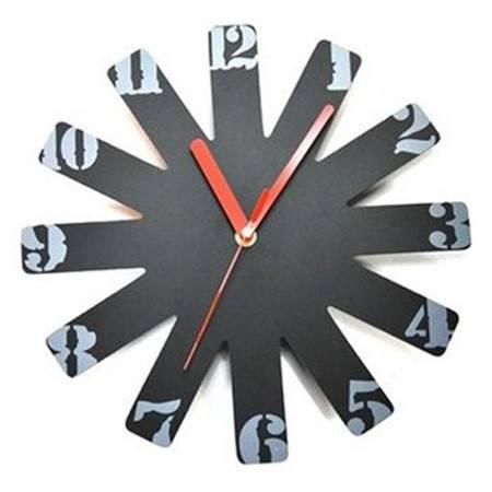 时尚简约摩天轮数字挂钟 创意挂钟 客厅卧室现代时钟表 个性装饰石英钟 静音