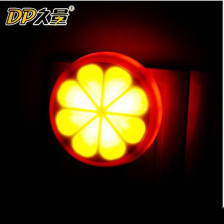 创意小桔灯浴缸灯小夜灯幻彩鲜橙灯 小夜灯JA8204
