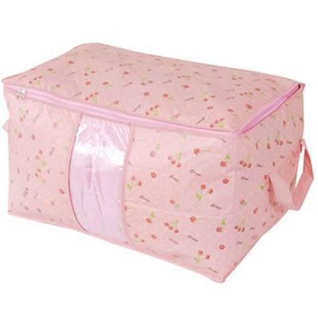 快乐鱼 樱桃甜美系列防水棉被袋 衣物收纳袋 整理袋 防尘袋
