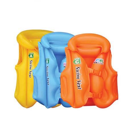 儿童充气游泳衣 宝宝泳衣 儿童充气救生衣中号