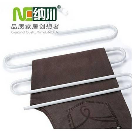纳川多层裤架-灰白色(A0117)