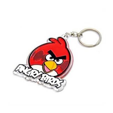 愤怒的小鸟亚克力挂件/钥匙扣  两个装