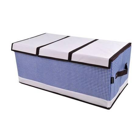 友纳可拆卸三盖毛衣收纳箱/收纳盒/内衣整理箱/家庭收纳用具60*30*25(两个装)