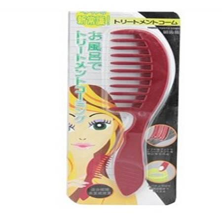 新常识梳子简妆宽齿 大齿梳~刷齿梳 梳理长发卷发梳JA5301
