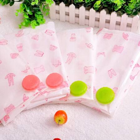 文博 9丝压缩袋8件套 收纳袋压缩袋棉被子真空袋套装 棉被收纳袋