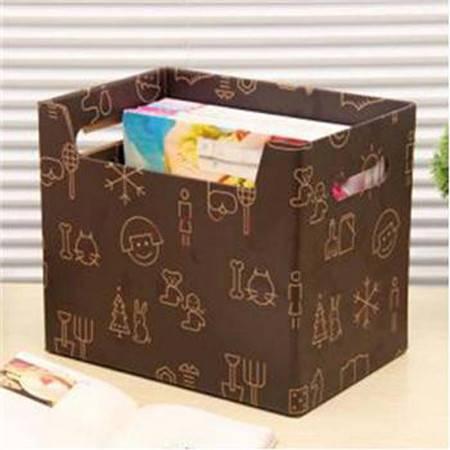 畸良 大容量纸质收纳箱玩具衣服储物箱有盖搬家纸箱宿舍整理箱整理盒杂物盒收纳盒 女孩