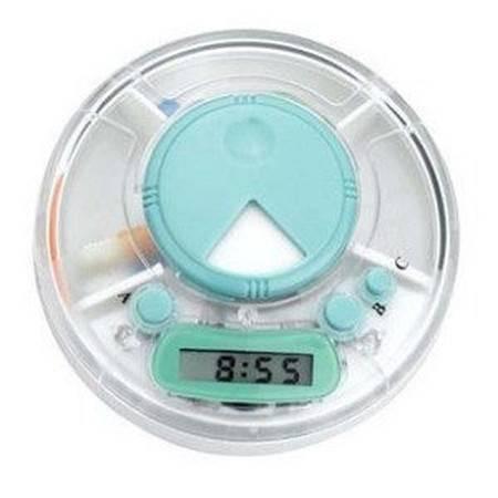 定时提醒电子药盒 多功能药盒 定时器 一周便携药瓶小药盒