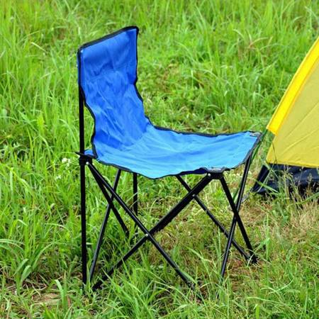 普润 便携式户外连体椅 折叠椅 沙滩椅