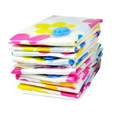 亿丰 12丝压缩袋棉被衣物收纳袋储物袋整理袋 压缩袋 100*70大号 6只装