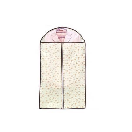 普润 衣服透明西服防尘袋小熊印花60*88cm 小号