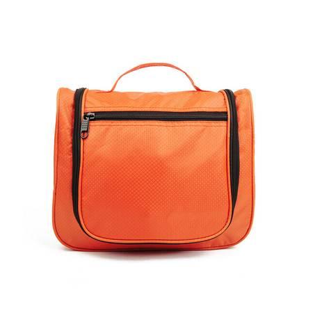 普润 包中包 双拉链收纳包 包中包收纳整理袋 化妆包 大号洗漱包 橙色