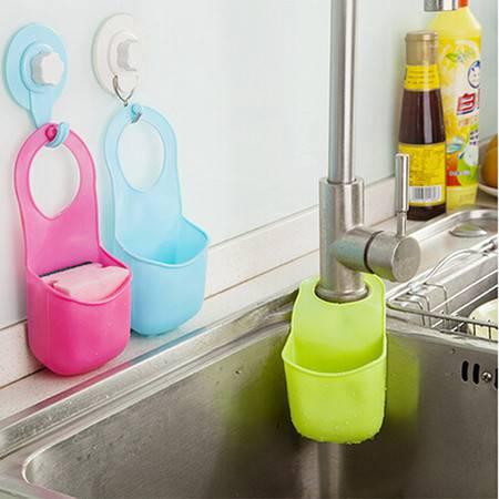 厨卫多功能沥水杂物收纳挂袋 三件套(JY006)