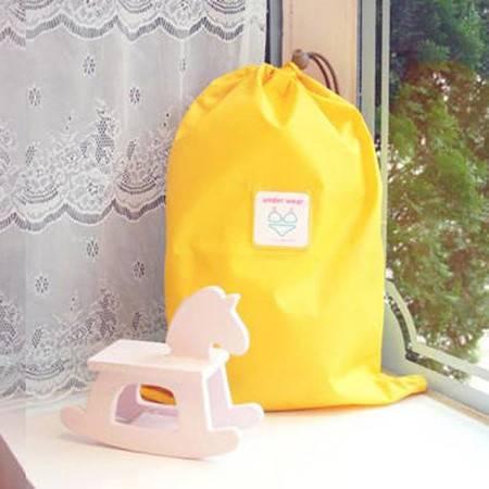 纳彩旅行收纳袋/幸运袋(L号)黄色