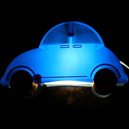 汽车儿童壁灯 卡通可爱调光男孩卧室儿童房床头夜灯