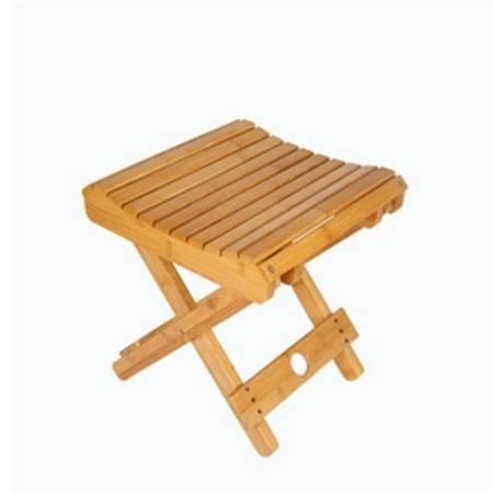 楠竹纳凉凳 成人儿童小板凳 便携式收纳折叠凳