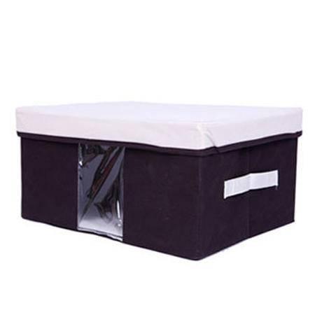 友纳 多功能透明窗可视三件套 收纳箱 收纳盒 可视箱(中号)