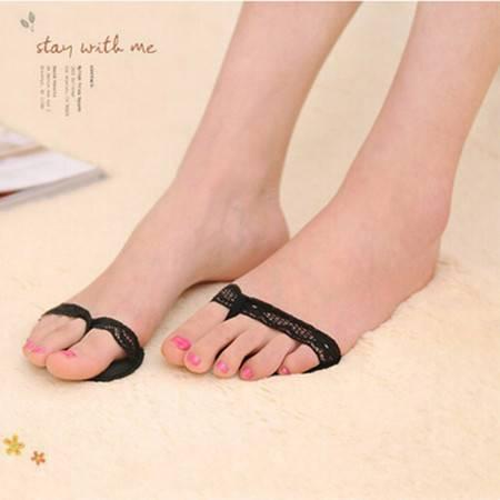 加厚软前掌垫 夹脚高跟鞋隐形护脚垫 人字款防滑半码垫 颜色随机