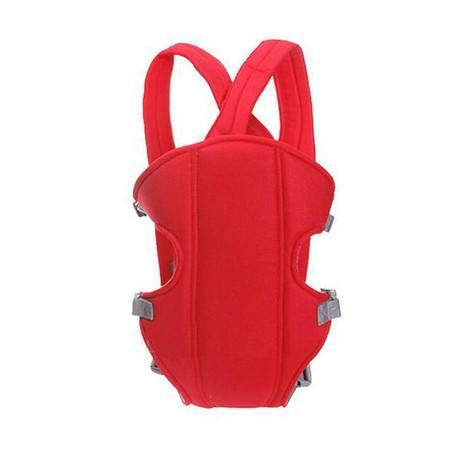 普润 婴儿背带 横抱式背巾四季通用新生儿背带婴幼儿后背式 -红色