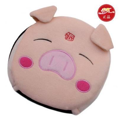 春笑 USB暖手鼠标垫/发热鼠标垫 加热 USB暖手宝 带护腕(福猪)