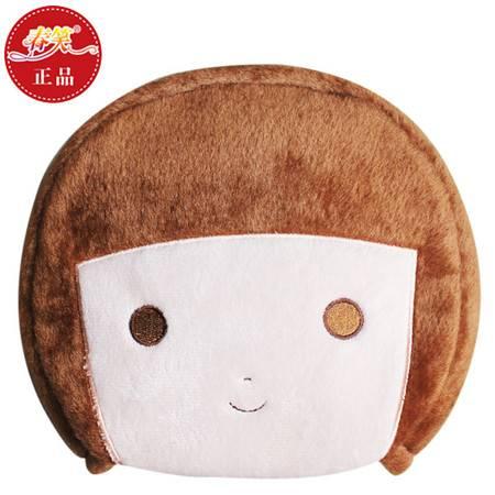春笑 情侣款豆豆男孩 USB暖手鼠标垫/USB鼠标垫/USB电热鼠标垫