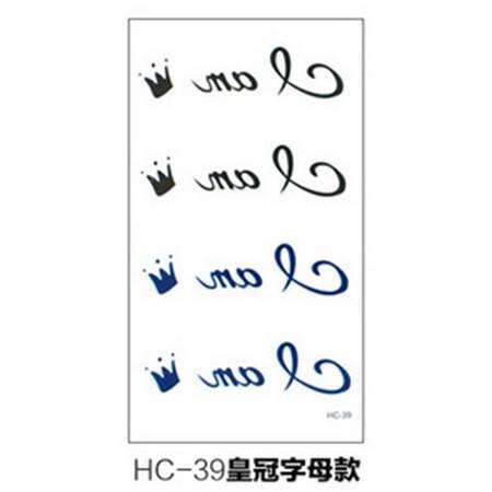 潮流夜店男女原宿款防水纹身贴纸 HC-31戒指款  10张装