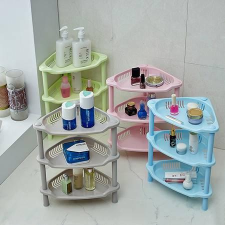 红兔子 T三角形浴室置物架 塑料浴室收纳架 卫生间置物架厨房储物架 728g