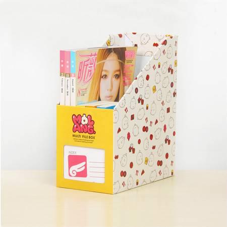 红兔子 畸良卡通桌面收纳盒 杂物收纳箱 大号文件收纳盒