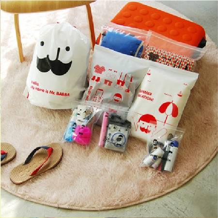 红兔子 旅行衣物收纳袋套装防水分类整理袋8枚入旅行收纳袋(8枚入)