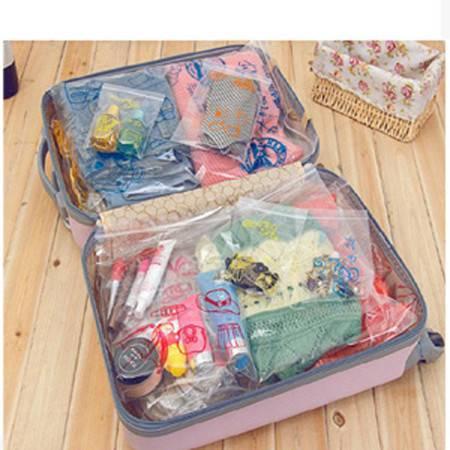 红兔子 衣服 内衣防水收纳袋分类鞋袋 旅行整理袋18枚入