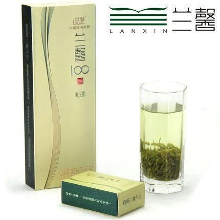 贵州茶叶 湄潭翠芽 绿茶 贵州特产兰馨100特级春尖茶礼盒装