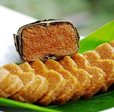 贵州遵义特产南白黄糕粑 刘姨妈黑糯米黄粑400g 绿色食品
