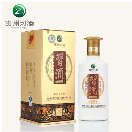 【贵州习酒】贵州茅台酱香型白酒 53度金质习酒 500ml