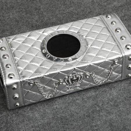 舒酷 日本原厂速递GARSON/DAD钻石水晶新款伯爵CROWN纸巾盒