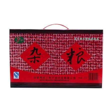 乐丫牌 五谷杂粮超值礼盒杂粮组合小米 秫米 玉米 燕麦八宝粥粗粮4kg