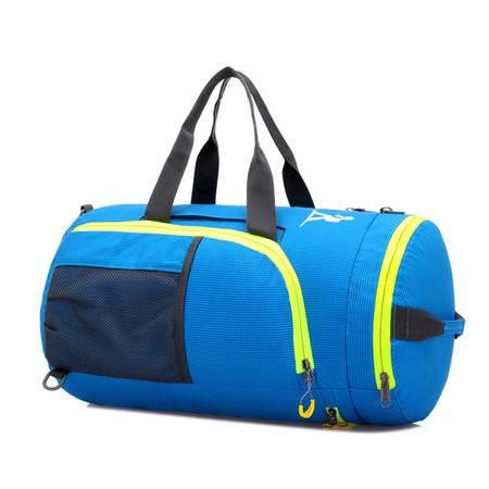 双肩背包旅行包登山包40l单肩包 女 男士挎包 手提包 横款圆筒包